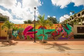 sea walls cozumel artlife