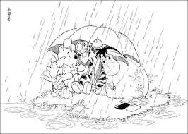 u0027s raining eeyore coloring pages hellokids