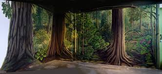 mural artist designer kim hunter indigo muralist vancouver bc nature house stanley park ecological educational landscape mural