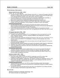 sample format resume
