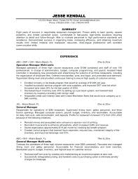 Restaurant Resume Templates Sample Resume For Fast Food Restaurant Sample Waitress Combination