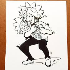 super rick fan morty donald kirby on twitter super rick fan morty drawing ink
