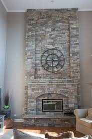Stacked Stone Veneer Interior Mountain Stack Stone Fireplace Pictures North Star Stone