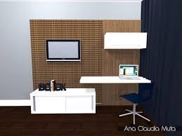 painel tv e home office pesquisa google casa 2016 pinterest