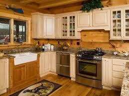 log cabin kitchen cabinets beautiful artistic log cabin kitchen in the kitchen pinterest