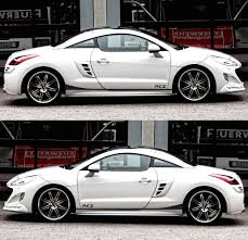 lowered amg peugeot rcz france turbo coupe racing sticker decal v2 infinity270
