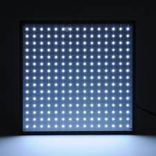 225 ultrathin led grow light panel with powerful ufo smd leds for
