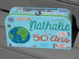 idee deco 30 ans urne anniversaire theme voyage au bord de la mer soleil ocean
