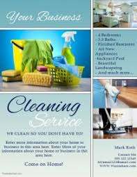commercial cleaning brochure templates cleaning service flyer templates postermywall