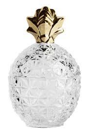 pineapple shaped glass jar pineapple shaped glass jar with a