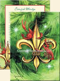 greeting cards cajun greeting cards fleur de lis crawfish