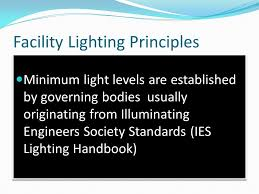 ies lighting handbook recommended light levels led fixtures controls presenter brian webber president