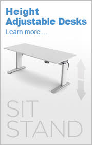 Sit Stand Desk Vancouver Height Adjustable Desks Vancouver Sit Stand Desks