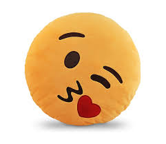 emoji smiley emoticon yellow round cushion pillow bc ha emji 10