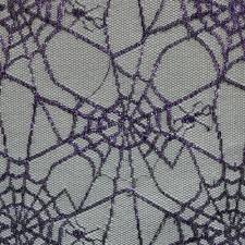 Fabric Halloween by Purple Spiders Web Halloween Fabric Halloween Fabric Fabric World