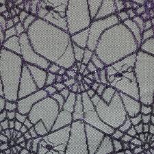 purple spiders web halloween fabric halloween fabric fabric world