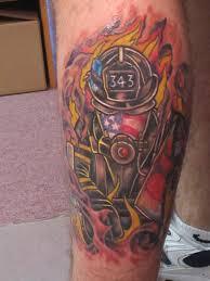 amazing firefighter skull