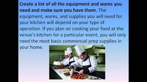 how to set up a mobile catering business catering business plan