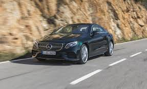 2018 mercedes benz e class coupe first drive review car and driver