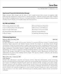 office manager resumes 54 manager resumes in pdf free premium templates
