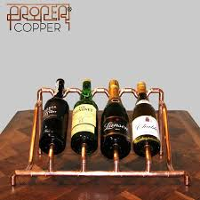 the 25 best copper wine rack ideas on pinterest kitchen wine