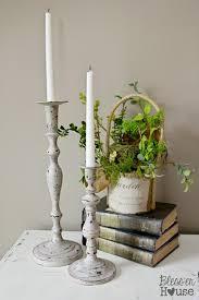 thrift store diy home decor diy distressed thrift store candlesticks bless u0027er house