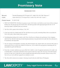 Private Child Support Agreement Promissory Note Template Free Promissory Note Form Us Lawdepot