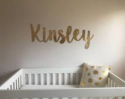 Letter Wall Decals For Nursery Letters Wall Decal Etsy