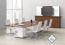 Bar Height Conference Table Nucraft Elevare Sit To Stand Conference Table With Height