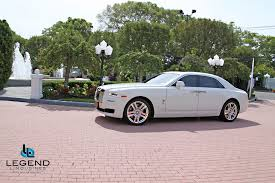 rolls royce gold and white legend limousines inc rolls royce ghost rolls royce rental