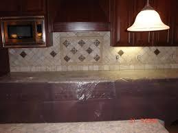 Travertine Countertops Limestone Backsplash Tumbled Tile - Brick backsplash tile