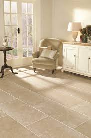 white porcelain tile floor island centerpiece cabinets with brown