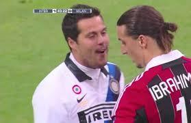 Zlatan Ibrahimovic What Happened When Julio Cesar Tried To Make Zlatan Ibrahimovic