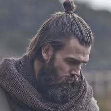 man bun short sides the samurai man bun