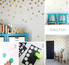Washi Tape Wall Designs by