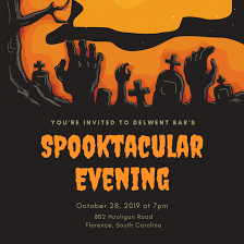 design your own halloween party invitations
