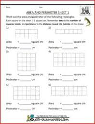 Free Printable Perimeter And Area Worksheets Morning Mrs Rubie Area Robots Worksheet And Classroom