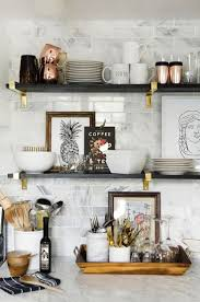 decorating kitchen shelves ideas best 25 kitchen shelves ideas on open kitchen