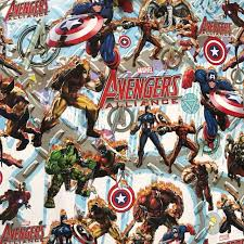 marvel wrapping paper marvel wrapping paper everything else others on carousell