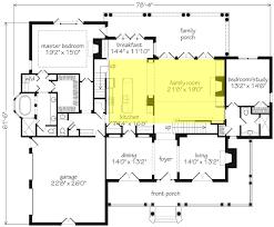 Family Room Floor Plan Home Design Ideas - Floor plans for open plan kitchen family room