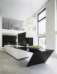 Best Modern Kitchen Designs by Kitchen Sharp Geometric Modern Kitchen Island With Electric Gas