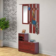 entrance coat rack bench seat for shoes entryway and image on