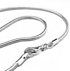 chain necklace style images 20 quot 2mm silver plated snake chain necklace italian jpg