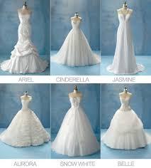 disney princess wedding dresses disney princesses wedding dress collection by alfreda angelo