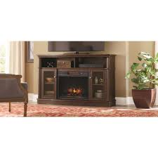 Homedepot Electric Fireplace by Tolleson 56 In Media Console Infrared Bow Front Electric