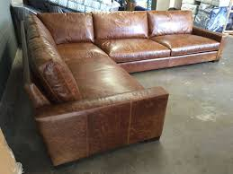 L Leather Sofa Outstanding Alluring Nailhead Leather Sofa U Custom Made In