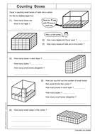 cuboid volumes by skillsheets teaching resources tes