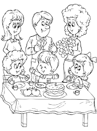 best 20 coloring pages of families for preschool family