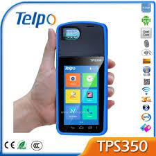 telpo tps350 biometric fingerprint reader device 3g gps pos