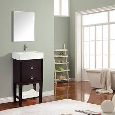 18 Bathroom Vanities by Avanity Kent Single 18 Inch Transitional Bathroom Vanity Coffee
